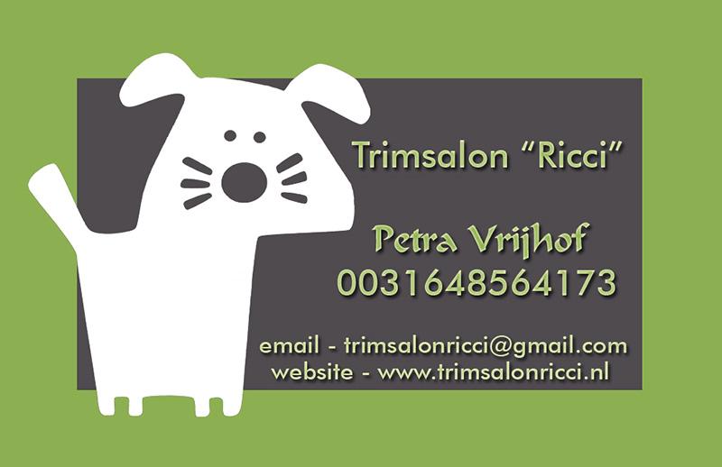 DefinitiefTrimsalon Ricci nieuw met website